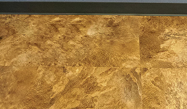 R. C. Musson Luxury Vinyl Tile - Granite Collection Sable