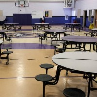 Kearney Elementary (Santa Fe, NM) Gym Floor 2