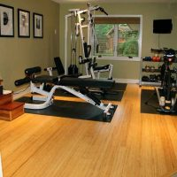 Strand Bamboo<br />Champagne <br />Exercise Room