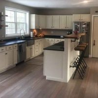 Strand Bamboo<br />Slatewood HS<br />Kitchen