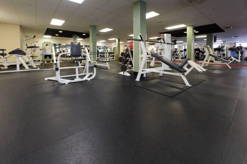 Rubber Gym Floor 1
