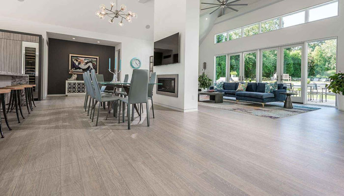 Blue Forest™ Quality Floors - Strand Bamboo Cloudburst