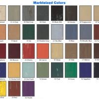 500-L Marbleized Colors