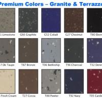 500-L Granite and Terrazzo Colors
