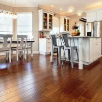 Strand Bamboo<br />Palermo Antiqued<br />Kitchen