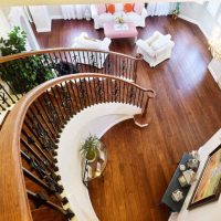 Strand Eucalyptus<br />Palermo Antiqued <br />Stairs & Living Rm