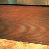 Aluminum/Vinyl Roll-Up Mats