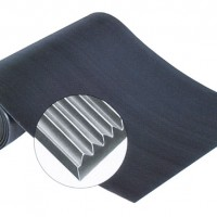 Heavy-Duty Corrugated Runner Matting - All Rubber