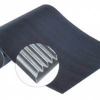 Standard Corrugated Runner Matting - All Rubber